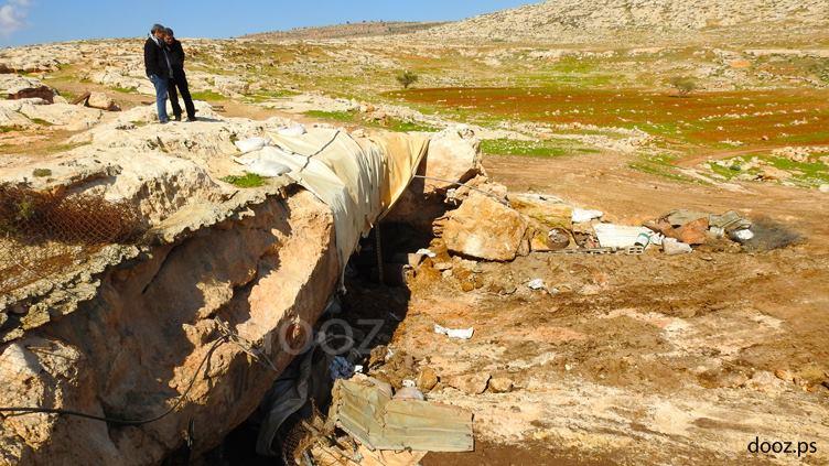 خربة طانا.. عائلات في العراء بعد هدم الاحتلال مساكنها
